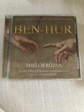 Mikl¢s Rozsa: Ben-Hur (Cd, 2 Discs, Tadlow) Brand New