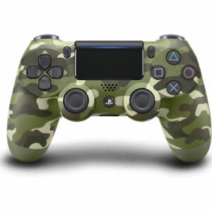 Sony PlayStation Dualshock 4 V2 Controller - Green Camouflage (CUH-ZCT2G 16)