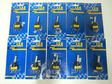 Lot of 10 NEW Roadpro AMBER LED LIT TOGGLE SWITCH with Terminals 16 Amp 3 Blade