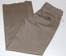 New GAP THE TROUSER DRESS PANTS 6 WOMENS WIDE LEG STRETCH SLACKS BEIGE TAN BROWN