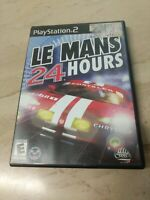 LE MANS 24 HOURS PlayStation 2 PS2 Infogrames
