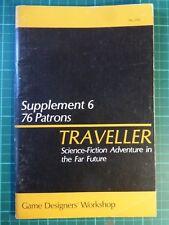 Traveller Supplement 6 76 patrons Jeux Atelier de conception GDW