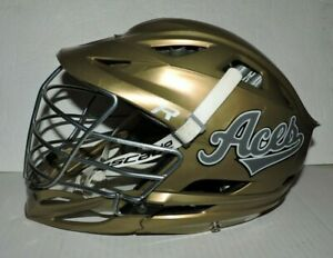 Cascade R Lacrosse Helmet with Chin Strap Excellent Condition Gold