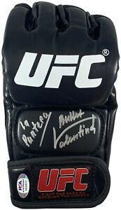 Valentina Shevchenko Antonina Shevchenko autographed signed glove UFC PSA COA