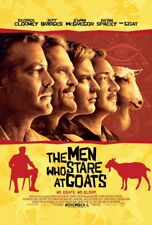 THE MEN WHO STARE AT GOATS MOVIE POSTER 2 Sided ORIGINAL 27x40