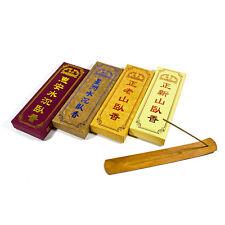 Set of Incense Sticks - 2 Sandalwood + 2 Agarwood Stick Set + Stick Holder