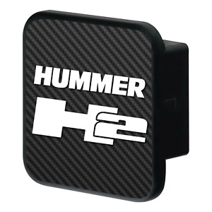 HUMMER H2 CARBON FIBER RUBBER HITCH COVER PLUG