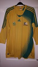 Mens Football Shirt - South Africa National Team - Home 2007-2009 - Adidas - 2XL