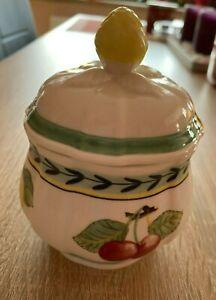 Villeroy und Boch French Garden Fleurence Zuckerdose, Premium Porzellan