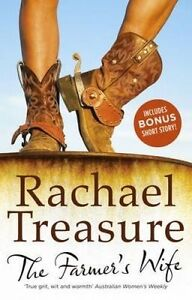 The Farmer's Wife By Rachael Treasure Paperback $5.00 Sale