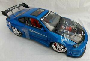 BNIB Kentoys die-cast 1:12 Extreme Tuner blue Nissan Silvia S-15 model