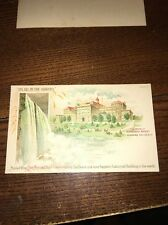Home of Shredded Wheat Niagara Falls New York NY Postcard Free Ship Version 2