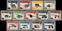 ✔️ GIBRALTAR 1987 - CANONS GUNS MILITARY - SC. 508/520 ** MNH OG $33 [CRD2]