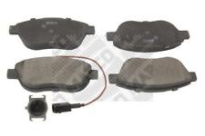 Bremsbelagsatz, Scheibenbremse für Bremsanlage Vorderachse MAPCO 6561