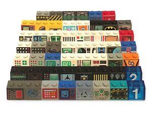LEGO 3039  (2x2) PRINTED DECORATED BRICKS - FREE P&P!
