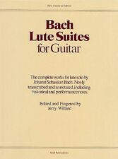 Lute Suites for Guitar Sheet Music Book NEW 014002939