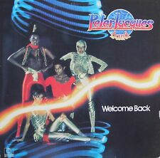 """Vinyle 33T Peter Jacques Band  """"Welcome back"""""""