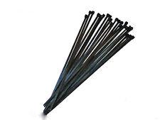 CABLE TIES BLACK PLASTIC PULL TIES FOR D.I.Y WORK REPAIRS MULTI USES (250/20)