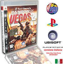 TOM CLANCY'S RAINBOW SIX VEGAS 2 NUOVO IN VERSIONE ITALIANA SONY PS3