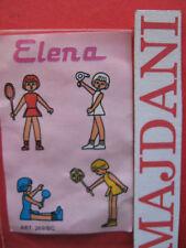 CARTINA - BPZ  BAMBOLA ELENA  1984  GRISONI  kinder