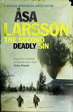 """VERY GOOD"" Larsson, Åsa, The Second Deadly Sin: A Rebecka Martinsson Investigat"