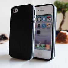 ULTRA SLIM TPU BUMPER CASE FOR iPHONE 5C 5 5S 4 4S SOFT SKIN GEL SILICONE COVER