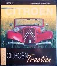 CITROEN TRACTION ICONES SERIES DOMINIQUE BELLIERE ERIC MASSIET DU BIEST CAR BOOK