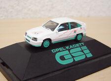 Herpa - Opel Kadett E GSi - weiß / türkis - PC-Modell - 1:87