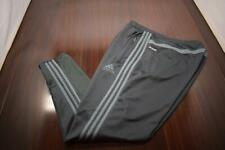 36663 Mens Adidas ClimaCool Performance Gray Tapered Sweat Pants Size 2XL XXL