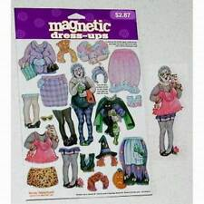Lot of 12 Sets - Halloween Witch Magnetic Dress-Ups