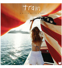 Train - a Girl a Bottle a Boat [New Vinyl] Download Insert