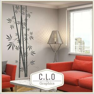 (up to) Full Wall Bamboo Wall Sticker Tree Transfer Decal Home Decor Vinyl Art