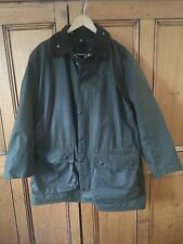 Fab VINTAGE BARBOUR NORTHUMBRIA A400 GREEN WAX JACKET C44/112cm XL