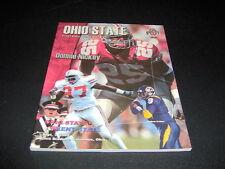 ORIGINAL OHIO STATE FOOTBALL PROGRAM VS. KENT STATE  SEPTEMBER 7, 2002