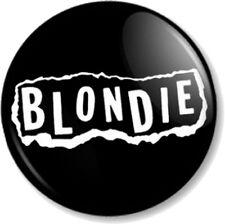 BLONDIE LOGO 4 25mm Pin Button Badge Logo Punk Rock Pop Band Atomic Debbie Harry