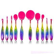 ASIMOON Professional Makeup Brushes Set 10pcs Soft Makeup Brush Oval Toothbrush