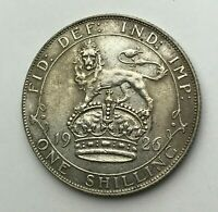 Dated : 1926 - Silver Coin - One Shilling - King George V - Great Britain