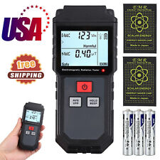 LCD Electromagnetic Field Radiation Detector EMF Meter W/ Anti Radiation Shield