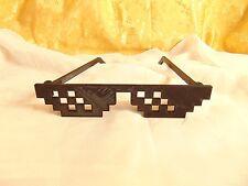Thug Life-deal with it - 8 bit-sucederá gafas de sol gafas Sunglasses carnaval