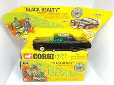 vintage corgi 268 The Green Hornet black beauty Nr Mint boxed + inner display