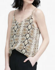 Snake Print camisoleby Tank Top By Banana Republic