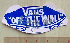 VANS SHOES OFF THE WALL HOSOI SIGNED SKATEBOARD STICKER DOGTOWN ALVA CABALLERO