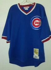 Mitchell Ness Andre Dawson MLB Baseball Chicago Cubs Cooperstown  Jersey Size 48