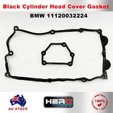 Black Cylinder Head Cover Gasket for BMW E46 E81 E85 E87 E90 N40 N42 N46 X3
