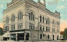 c1910 Printed Postcard; Svea Music Hall, Rockford IL Winnebago County Unposted
