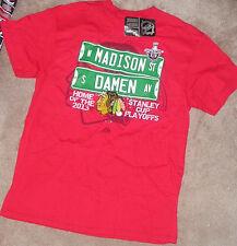 NEW NHL Chicago Blackhawks Madison Damen Stanley Cup M Medium Men 2013 NEW NWT