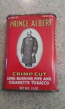 VINTAGE- PRINCE ALBERT CRIMP CUT PIPE & CIGARETTE TOBACCO TIN