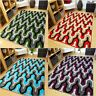 Green Red Blue Modern Style Soft Thick Runner Rug Small Extra Large Mat Cheap