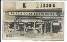 Pleasantville NY New York Postcard Plaza Confectionery Book Shop