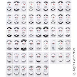 "6 AMOR US Human Natural Hair False Eyelashes - 6 Pairs ""Pick Your 1 Type""*Joy's*"
